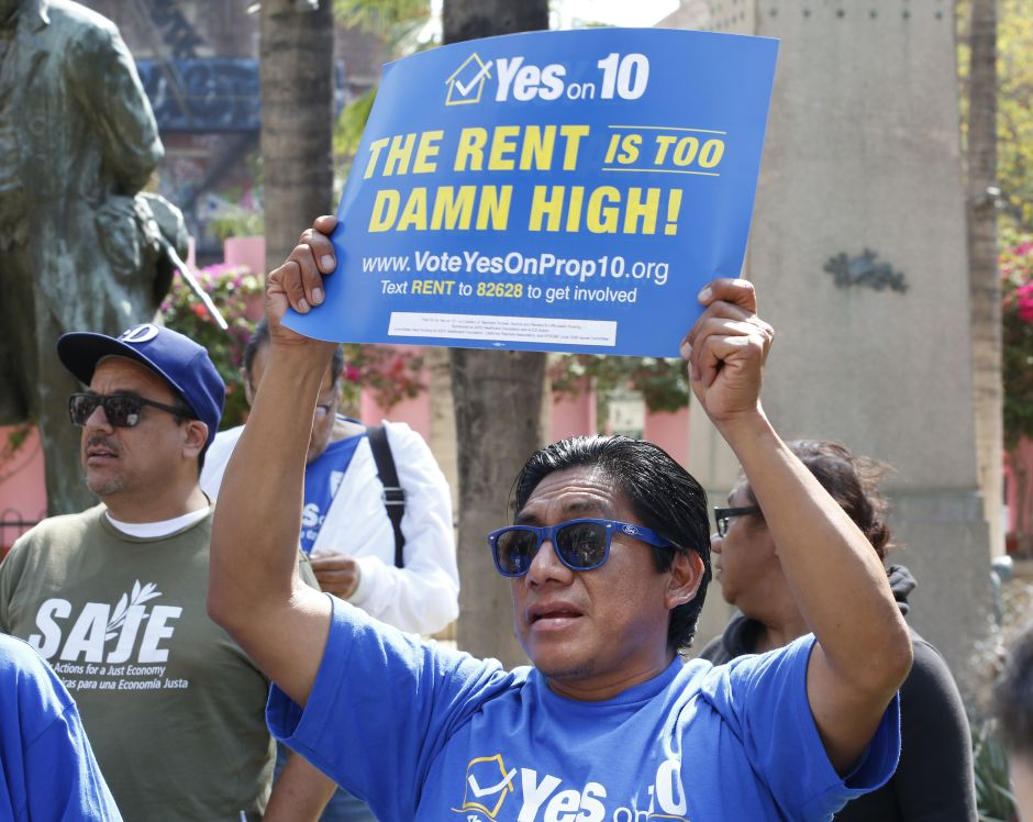 Measure that will limit rent hikes in California does not satisfy tenants
