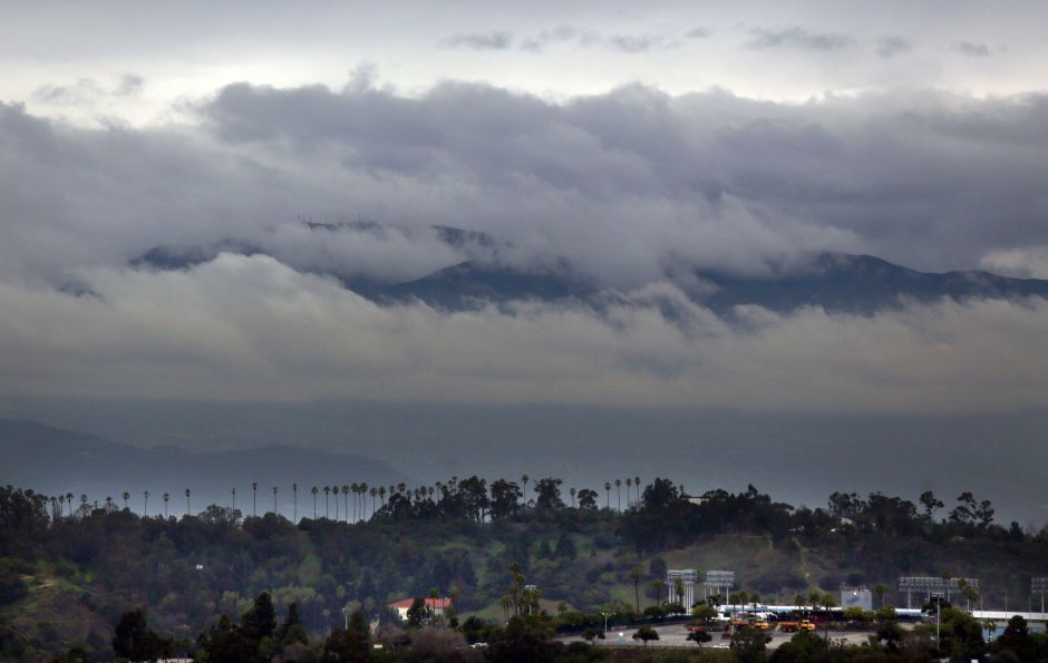 A storm will bring rain and snow to the mountains of southern California on Sunday