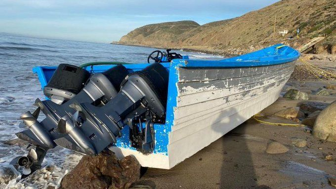 They secure 60 pounds of marijuana on Malibu beach, with an estimated value of $ 24,000 dollars