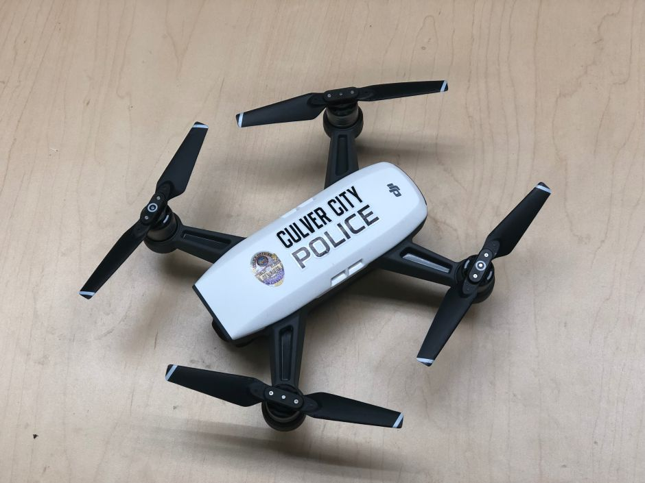 The police in Culver City have new helpers: Drones