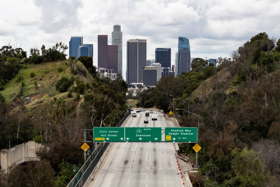 Coronavirus in Los Angeles: They adapt a hotel for patients with COVID-19