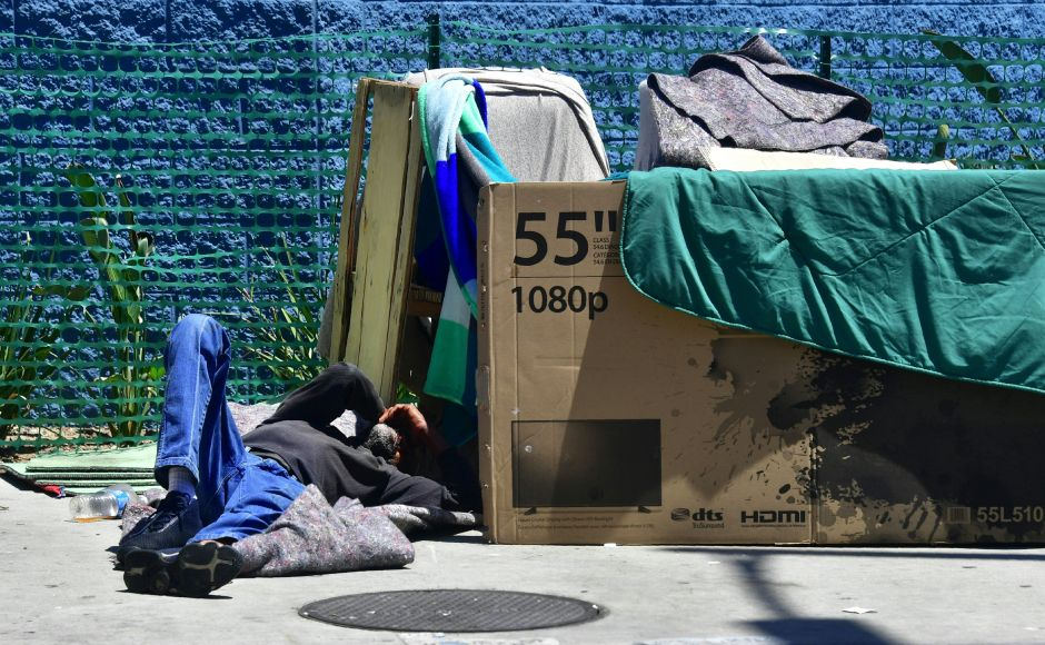 The City of Los Angeles will enable 6,000 beds for homeless people during the coronavirus contingency