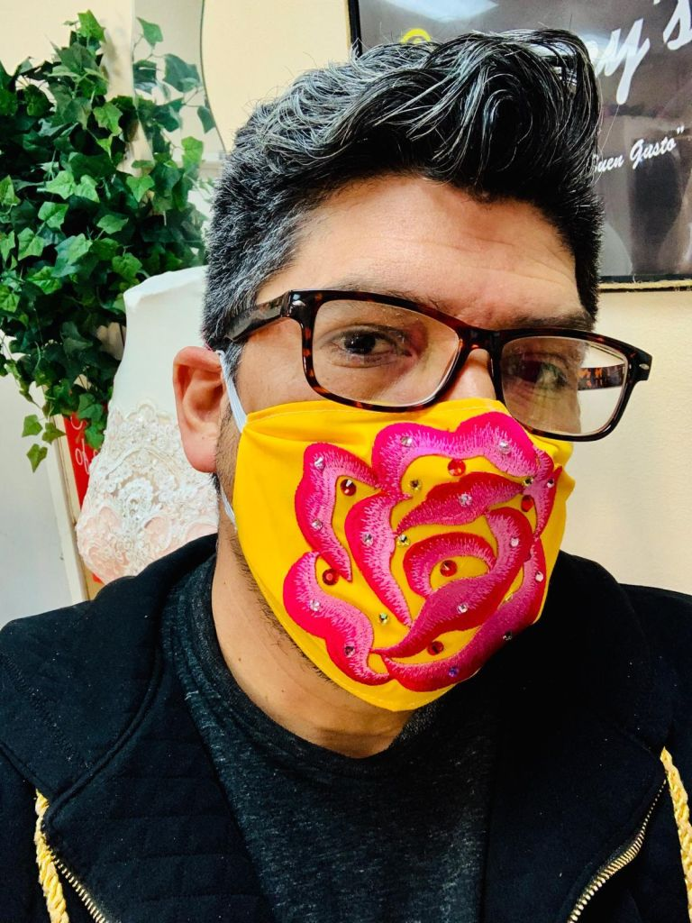 Mexican designer creates coronavirus masks to help and survive