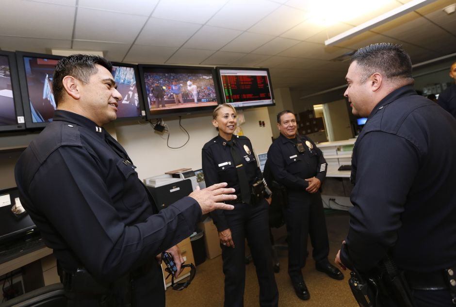 Not even Los Angeles police officers escape the coronavirus