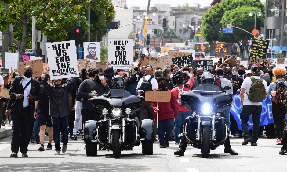 Nearly 3,000 Arrested During George Floyd Protests in Los Angeles