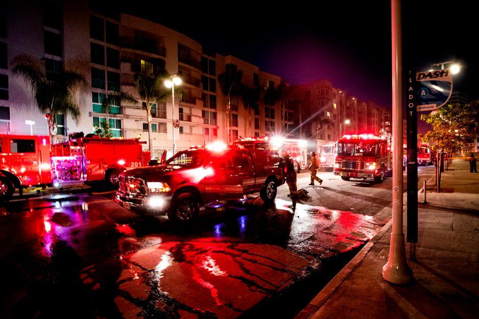 Rowland Heights Mall Fire Kills Restaurant