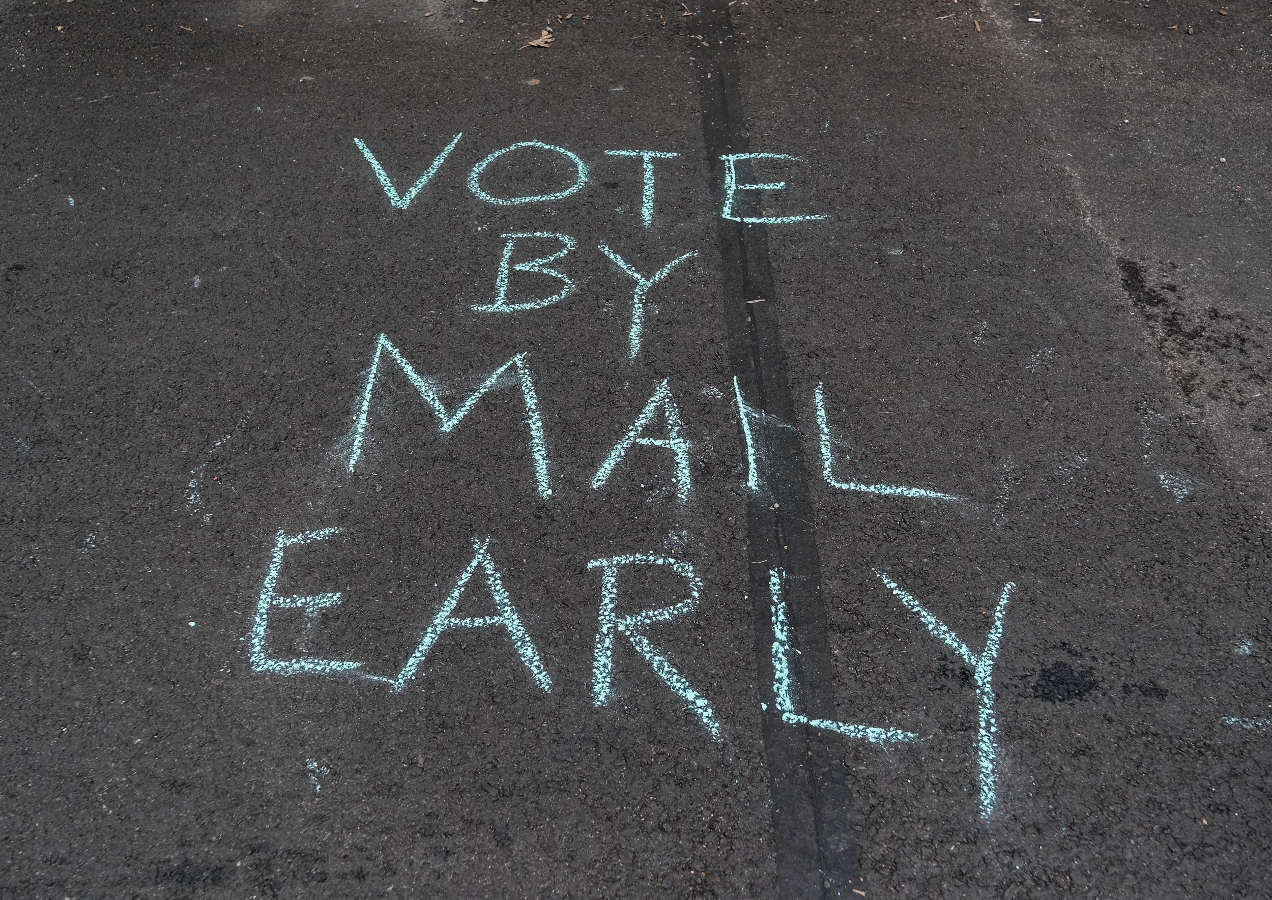 Make sure you send the ballot by mail as soon as possible.
